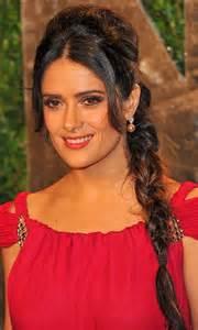 Salma hayek hairstyles long braided hairstyle pretty designs