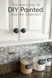 how to paint kitchen cabinets black 25 best ideas about paint cabinets white on