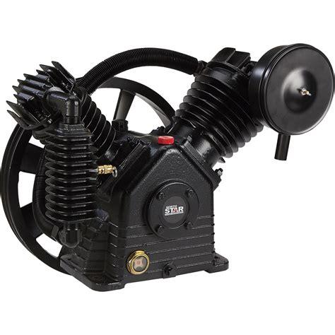 northstar air compressor pump  stage  cylinder   cfm