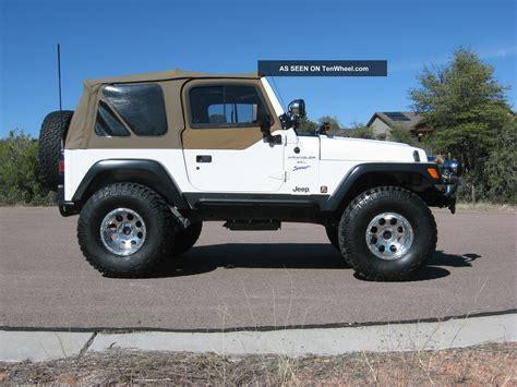 1997 Jeep Wrangler Sport 1997 Jeep Wrangler Sport Sport Utility 2 Door 4 0l