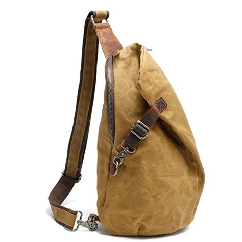 Sling Bag Import Permata aotian waterproof waxed canvas sling backpacks unisex chest import it all