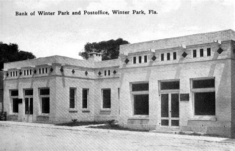 Winter Post Office by Us Post Offices Winter Fl