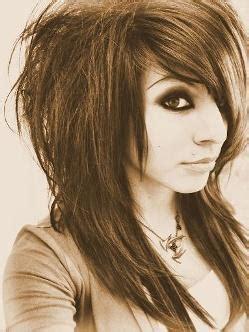 emo ish hair styles wavy emo hairstyle