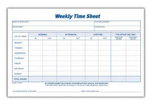 Printable Time Card Template Blank Monthly Time Sheets Calendar Template 2016