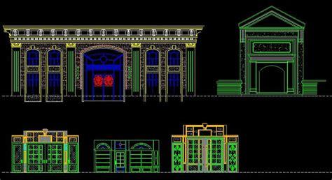 autocad tutorial greek entrance design cad library autocad blocks autocad