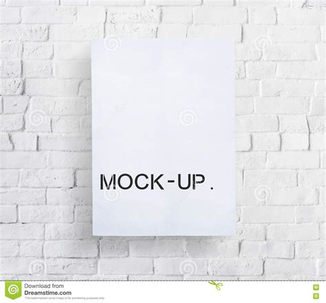 mock layout meaning mock up model typography object sle concept stock image
