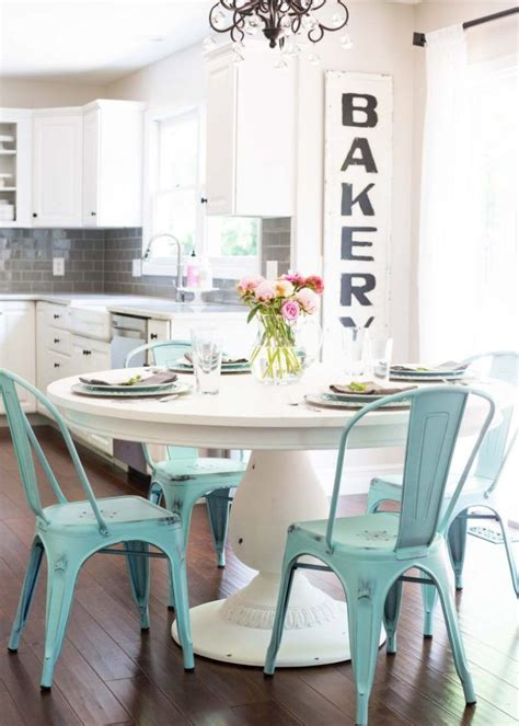 teal kitchen table top 25 best turquoise kitchen tables ideas on