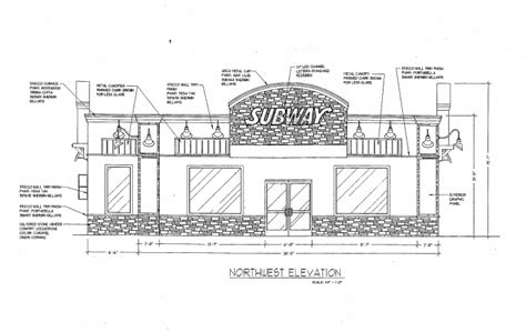 layout of subway restaurant subway restaurant floor plan 28 images springing