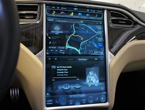 Tesla Touch Screen Tesla S 17 Touchscreen Display That S The Future Car