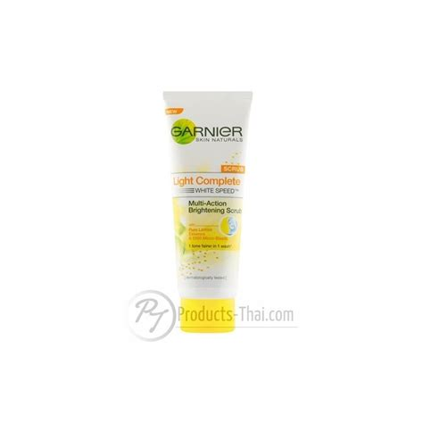 Garnier Multi Brightening Scrub garnier thai garnier light complete multi