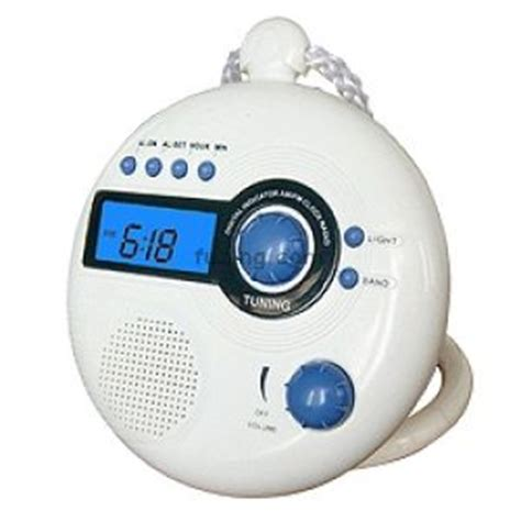 clock radio for bathroom camera bags shower clock radio