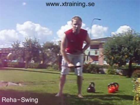 swedish swing reha swing flexibar in swedish youtube