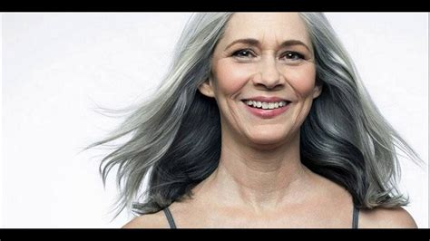 highlights for white hair on older women grey hair highlights and lowlights solution youtube