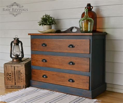 blue chest of drawers australia antique restored hardwood chest of drawers painted in
