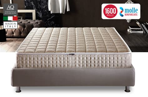 materasso a molle indipendenti prezzi materasso 1600 molle indipendenti ottimo riposo