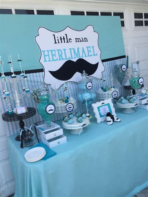 Mustache Baby Shower Decorations by Mustache Baby Shower Baby Shower Ideas Baby Shower