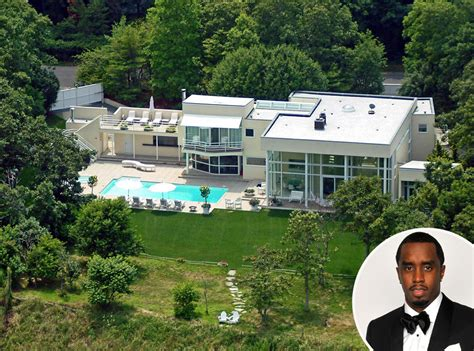 celebrity mansions sean diddy combs from celebrity homes in the htons