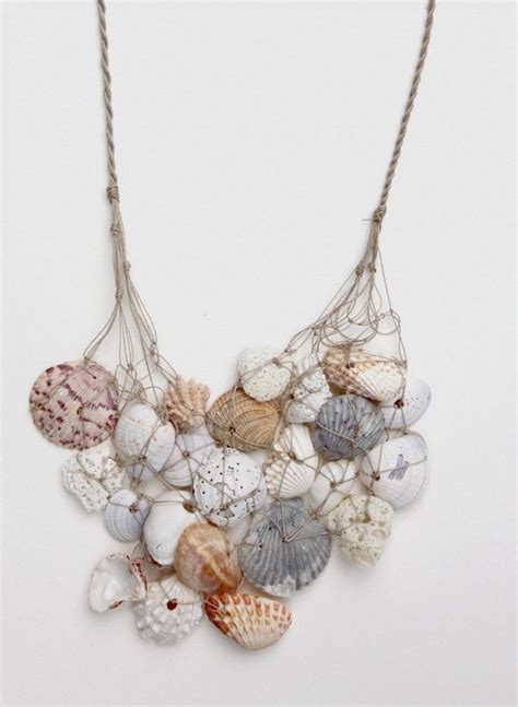 1000 Ideas About Seashell Necklace On Shell