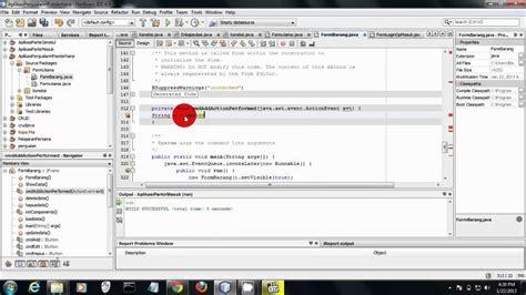 membuat virus hp java membuat aplikasi penjualan hp sederhana dengan java youtube