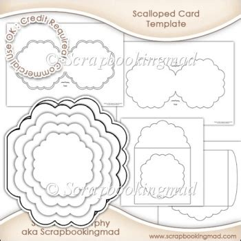 dl card insert template scalloped card insert envelope template cu ok 163 3 50