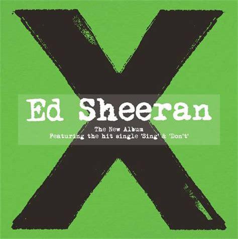 ed sheeran new album download ed sheeran x cd album at discogs