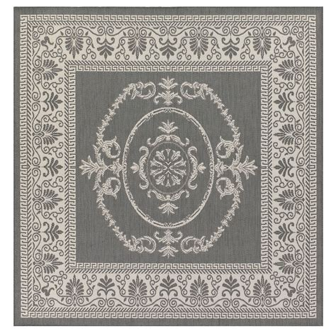 10 Square Medallion Area Rug by Antique Medallion Indoor Outdoor Area Rugs