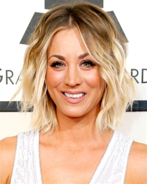 big bang blonde short hair cut pictures kaley cuoco bob styled custom celebrity lace wig