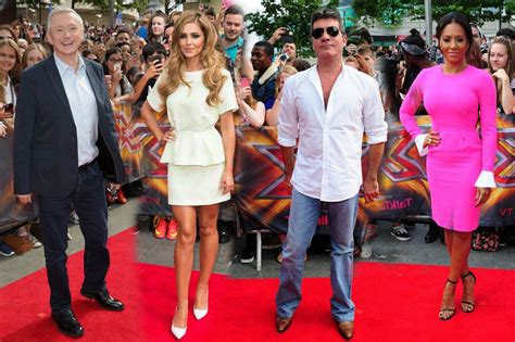 X Factor On The Carpet At I Am Legend Premiere by Cheryl Cole Dazzles As X Factor Arena Auditions Kick