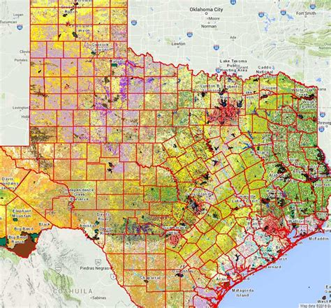 gis maps texas geographic information systems gis tpwd