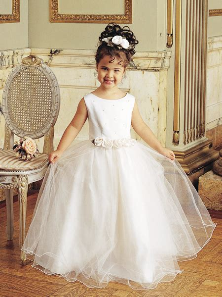design flower girl dresses designer flowers little girls pageant gowns tulle princess