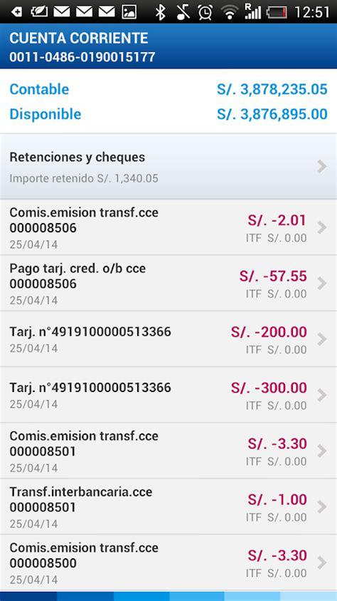 consulta de saldos i bbva continental bbva continental banca m 243 vil android apps on google play