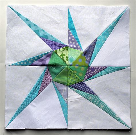 Paper Pieced Quilt Block Patterns by Pinwheel Paper Piecing Monday Wombat Quilts