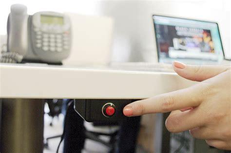 door release button for desk fireproofing plastic abs white emergency door exit button