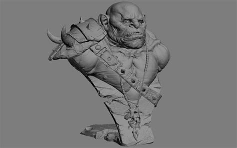 zbrush orc tutorial zbrush tutorial the making of orc by moises gomes