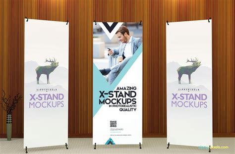 design x banner psd 14 premium x banner mockups and roll up banner mockups