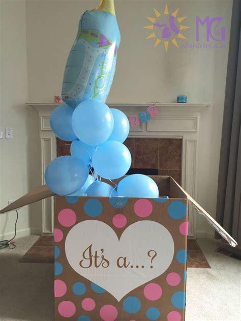 gender reveal best 25 gender reveal box ideas on baby