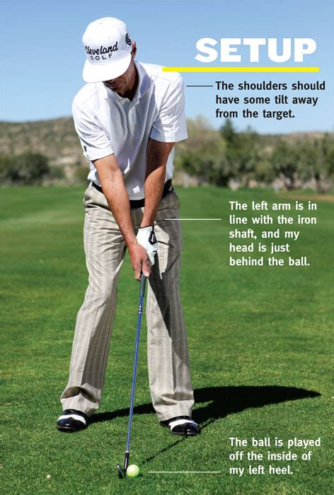 how to set up golf swing iron play simplified golf tips magazine