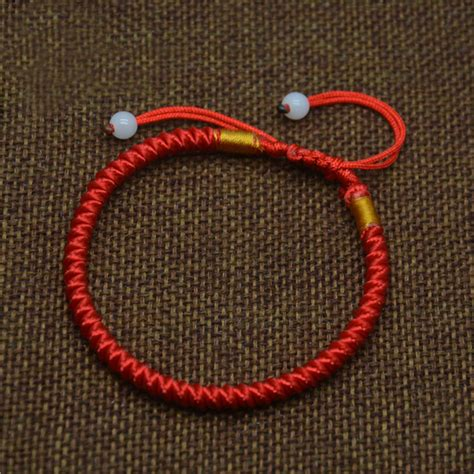 Braided Simple Style Lucky String Rope Cord Bracelet lucky braided string rope cord bracelet gift fashion simple style classic in strand