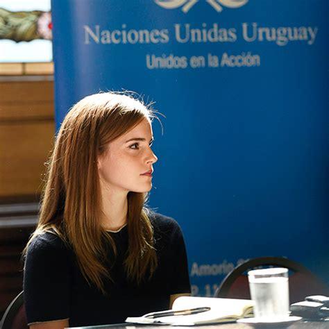 emma watson biography un emma watson visits the uruguayan parliament nerd next door