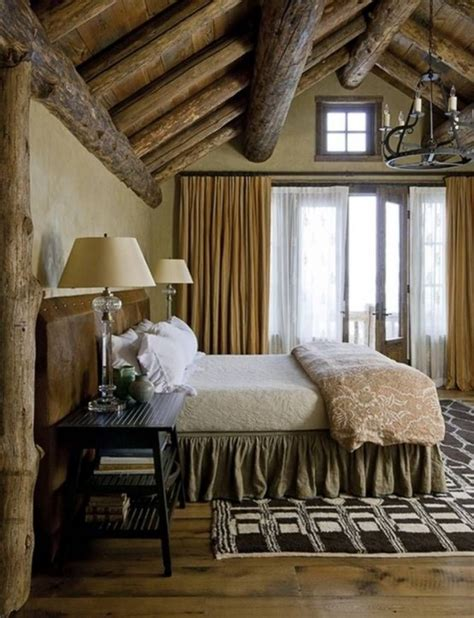 Rustic Bedroom Curtains 65 Cozy Rustic Bedroom Design Ideas Digsdigs