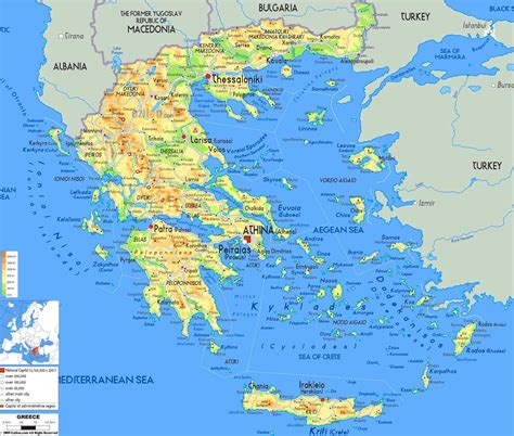 printable road map of greece map greek islands map of the greek islands southern