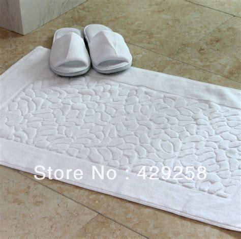 Bath Mat Handuk Hotel Invicta free shipping sale high quality five hotel bath mat 50 82cm 350g white cotton towel