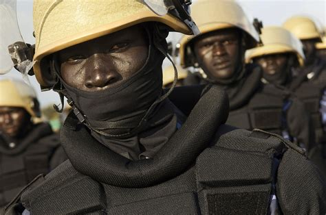 south sudan police south sudan police recruits at training academy a close