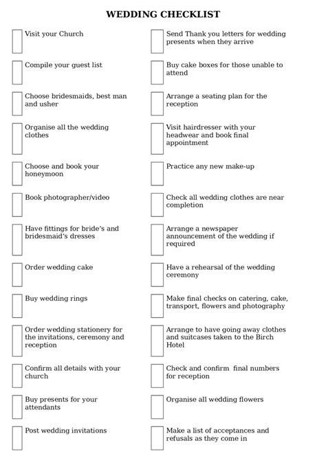 printable wedding checklist philippines 2018 wedding checklist template fillable printable pdf