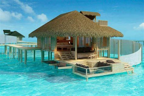 Tiki Huts On Water Water Hut Places To Visit