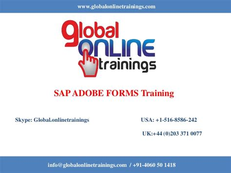 tutorial sap adobe forms sap adobe forms training sap adobe forms online course got