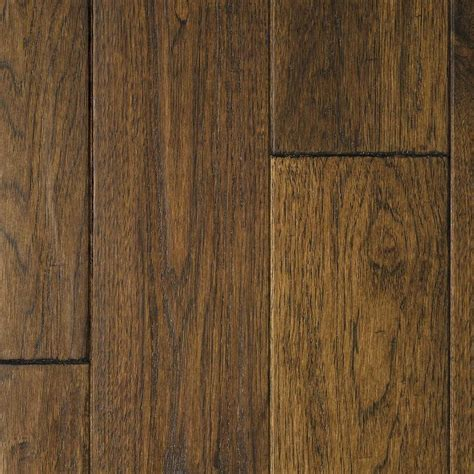 Prefinished Solid Hardwood Flooring Shop Mullican Flooring Chatelaine 5 In W Prefinished Hickory Hardwood Flooring Provincial At