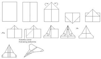 Paper Airplanes That Fly Far And Are Easy To Make - paper airplane ideas