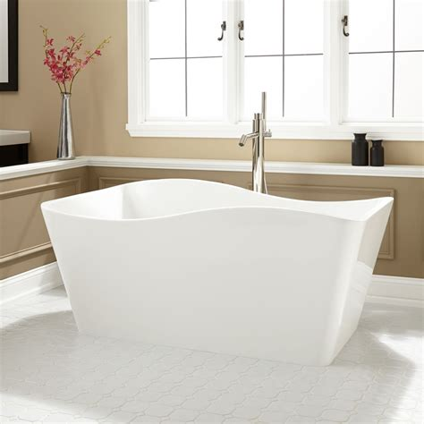 bathrooms with freestanding tubs delmare acrylic freestanding tub bathroom