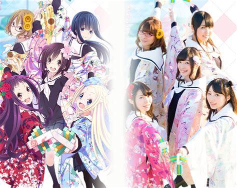 gambar anime fuuka hanayamata tayangkan trailer baru sekaligus umumkan